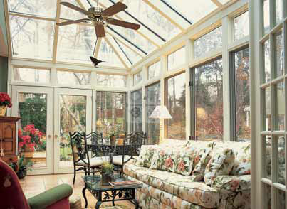 Conservatory sunrooms bee window fishers in for Victorian sunroom designs