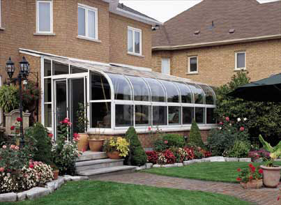 curved sunroom in bloomington