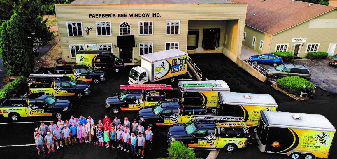 Bee Window Company Photo with Trucks HI RES 2