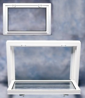 Andersen Replacement Windows >> Basement Hopper Windows | Bee Window | Fishers, IN
