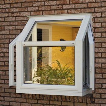 garden projected frame windows bee window